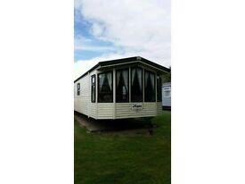Burnham on sea village, haven, prestige 8 berth caravan for hire, 3 bedrooms March 10th-13th £110