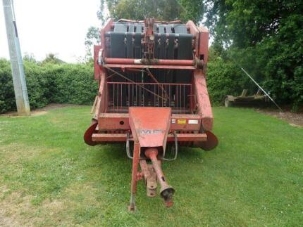 Massey Ferguson Hay Round Baler. Mirboo North South Gippsland Preview