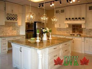 Kitchen Cabinets on sales -  Antique White Maple