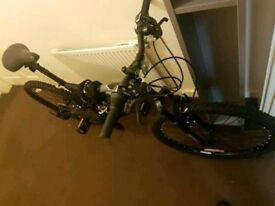 New Mountain Bike Front and Back Suspension