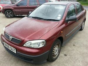 1999 VAUXHALL ASTRA LS DI DIESEL 2.0 (1995cc)16V RED TAXED AND TESTED MOT'D