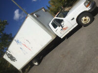 1997 FORD F 350 DIESEL CUBE VAN FOR SALE OR TRADE