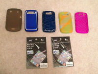 Blackberry Cases and Screen Protector
