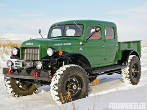 Looking for Classic 1940s-50s Dodge Power Wagon