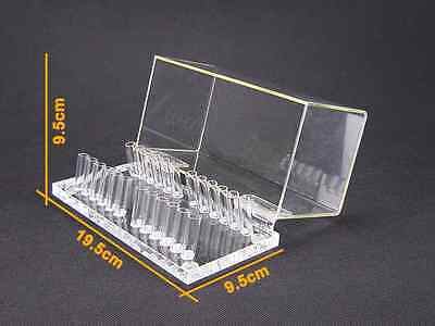 1pc Dental Acrylic Organizer Holder Case For Orthodontic Preformed Wire
