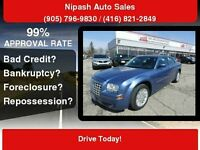 2007 Chrysler 300,SUNROOF,CERTIFY,3 YEARS P-T WARRANTY AVAILABLE Mississauga / Peel Region Toronto (GTA) Preview