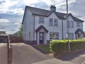 New Year - New home! Modern 3-bed semi in Knocklynn area, Coleraine - Unfurnished