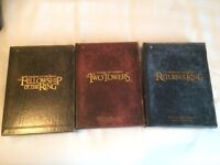 Lord of the rings 1 a 3 cofferet version longue seigneur dvd
