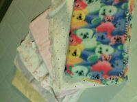 couverture,serviettes de bain
