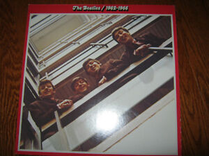 Beatles Red & Blue albums