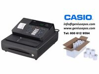 CASIO CR-140 BRAND NEW CASH REGISTER