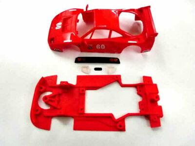 Chasis Hybrid F-40 mas accesorios compatible con SCX Scalextric ES Mustang