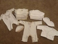 Small unisex baby bundle all Mamas and Papas, Boots or Mothercare