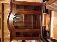 Beautiful antique hutch with bottom stand