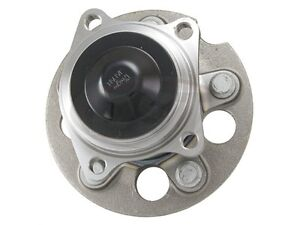 Rear Wheel Bearing and Hub Assembly - Front Wheel Drive - Withou
