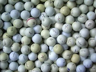 150 Golfbälle-Lakeballs für Crossgolfer/Golfeinsteiger gebrauchte Bälle weiß ()