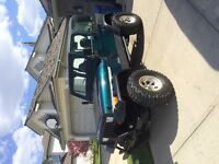 1995 lifed jeep YJ in great shape