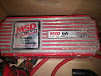 MSD 6A Part no. 6200 MSD Ignition Coil Part no. 8202 w/ cables