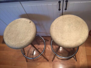 Mid Century Modern Vintage stools made by Cosco 1960's West Island Greater Montréal image 3