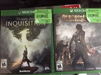 $35 for dragonage.. $15 for dead rising
