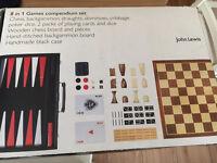 John Lewis Games Compendium NEW