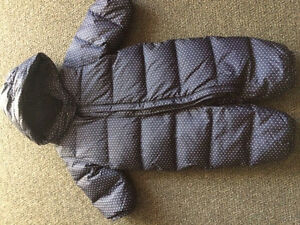 6-12 month Gap snowsuit.
