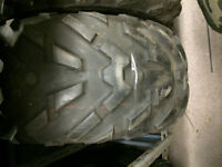 ONE USED Dunlop KT127 ATV Tire, 25x10x12