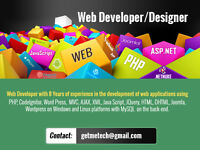 Web Developer worked in various capacities for prestigious clients ___
