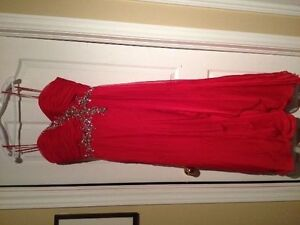 Red PROM DRESS (Size 10-11)