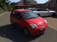 2006 06 Chevrolet Matiz only 49000 miles