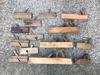 Antique woodworking planes