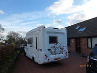 Mercedes Automatic 6990 miles Motorhome