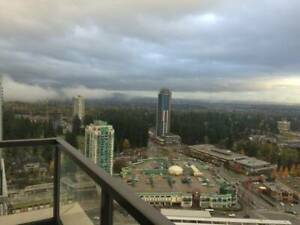 34 floor penthouse in coquitlam steps away from skytrain + mall