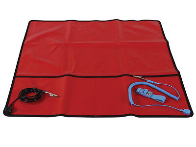 Velleman As9 Anti-static Field Service Kit - Red 24 X 24 New