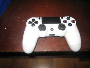 ps4 white wireless controller