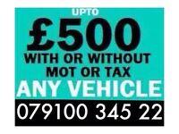 079100 34522 SELL MY CAR VAN FOR CASH BUY YOUR SCRAP TODAY Q