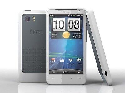 "HTC Vivid White (AT&T) Touchscreen GSM 4.5"" WiFi 16GB GPS 8GP Camera Smartphone"