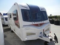 2014 BAILEY UNICORN VALENCIA FIXED BED * SALE ENDS TUESDAY 28TH FEBRUARY * LISBURN CARAVAN CENTRE *