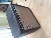 Fender Princeton 65 with Reverb and Vox Footswitch