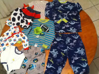**Got a baby boy? Don't worry about expensive clothing!**