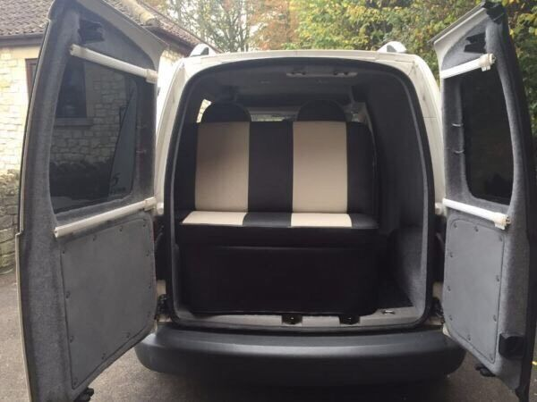 vw 2 0 2010 caddy campervan conversion immaculate in. Black Bedroom Furniture Sets. Home Design Ideas