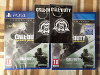 CALL OF DUTY INFINITE WAREFARE LEGACY EDITION BRAND NEW & SEALED FOR PLAYSTATION 4 - PS4