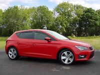 SEAT LEON TSI FR TECHNOLOGY (red) 2014