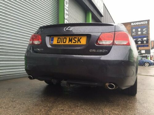 Lexus GS 450H Dual Exit Stainless Steel Exhaust System inc Fitting - Birmingham