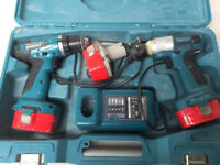 Makita 6281DP3-ID 14.4V Cordless Combo Kit 6281D Drill Driver + 6935FD Impact Driver
