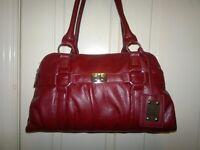 Hand bag Maroon colour
