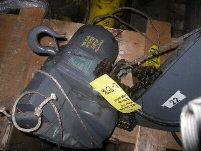 YALE ELEC. HOIST L-9596 (Elec Hoist)