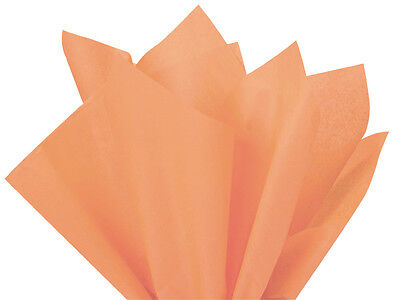"""BEAUTIFUL PEACH! Tissue Paper for Gift Wrapping 20""""x30"""" Soli"""
