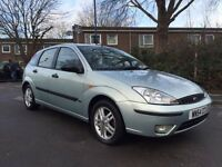 FORD FOCUS ZETEC NO ADVISORIES LOVELY DRIVE ALLOY WHEELS ( FORD VAUXHALL MAZDA BMW RENAULT CITROEN )