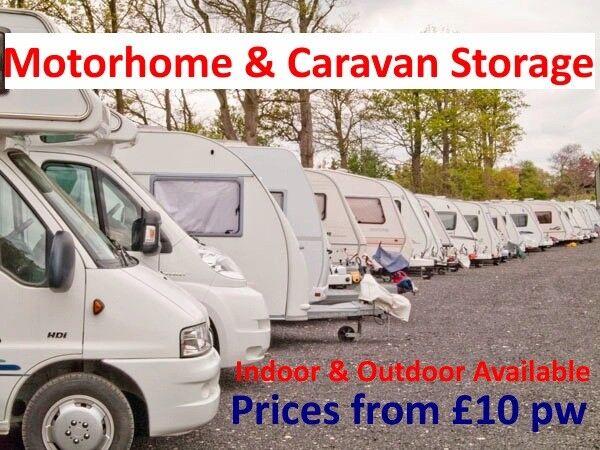 Motorhome Storage, Caravan Storage, Camperan Storage. RV Storage.
